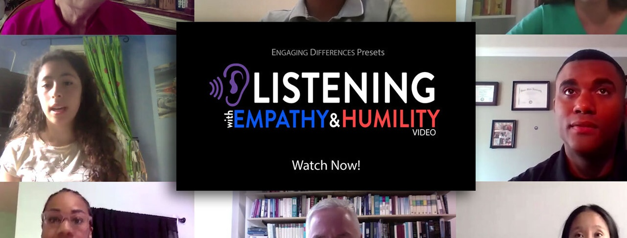 NICD launches latest video 'Listening with Empathy & Humility'